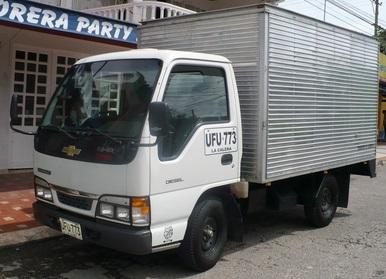 81a7942e9a9db Furgón mixto para Chevrolet NHR de 2 toneladas - Crédito de ...