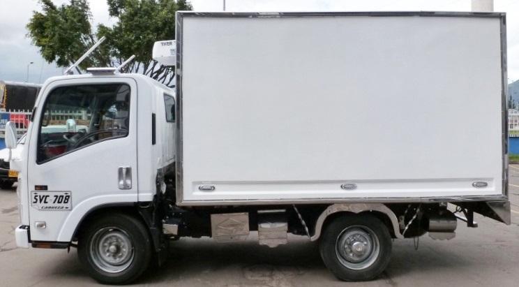 03787c7c6796c Furgón aislado para Chevrolet NHR de 2 toneladas - Crédito de ...