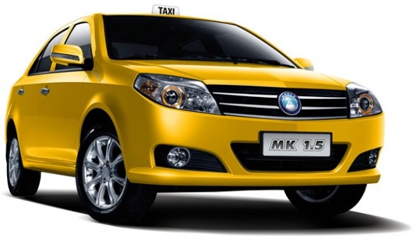 Automovil Geely MK Taxi