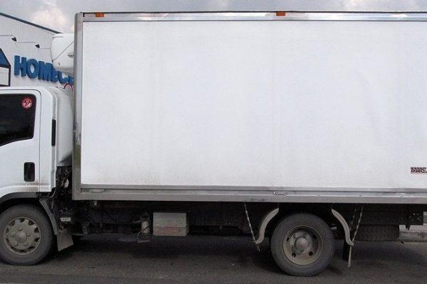 Furgón aislado para Chevrolet NNR de 4 toneladas