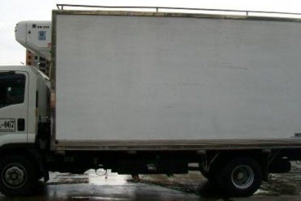 Furgón aislado para Chevrolet FRR de 7.5 toneladas