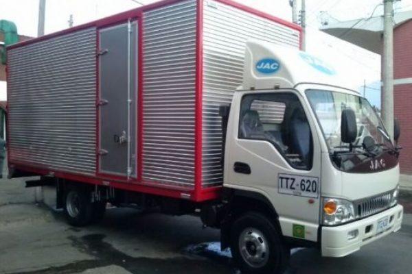 Furgón mixto para JAC 1060 de 5.3 toneladas